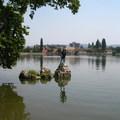 Keresztelő Szent János szobor