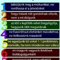 7 fontos szabály életünkben !