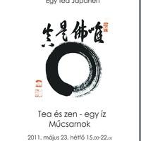 Egy tea Japánért! / Tea és zen - egy íz