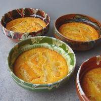 Gyümölcsös clafoutis (francia tejespite)