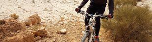 Biciklivel Heródes király nyomában