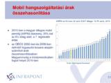 A magyar mobilipiac jól (jobban) teljesít és nem drága