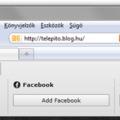 Firefox: Tartalmak egyszerű megosztása a közösségi oldalakon