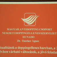 A doppingellenes tevékenység aktualitásai konferencia 2015.12 3-4.