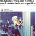 Fehérjetúladagolásban halt meg egy testépítő anyuka? Tiltsuk be a fehérjekészítményeket?