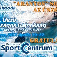 CXVII. Országos Bajnokság Széchy Tamás Emlékére - Aranyos úszósikerek