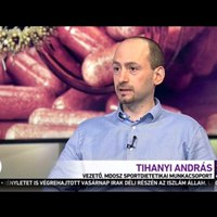 Tihanyi András, az MDOSZ Sportdietetika Munkacsoportjának vezetője nyilatkozott az étrendkiegészítők alkalmazásának veszélyeiről a MA DÉLELŐTT műsorában, 2016.05.02.