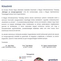 Mérlegen az energia-egyensúly konferencia 2015.05.16.