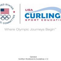 Rövid, praktikus kis forrás: TEAM USA Curling Nutrition Workbook and Guidelines