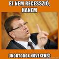 Kátyúban a gazdaság - Matolcsy pozíciója stabil
