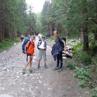 Magas-Tátrai edzések, igazi hegyek között
