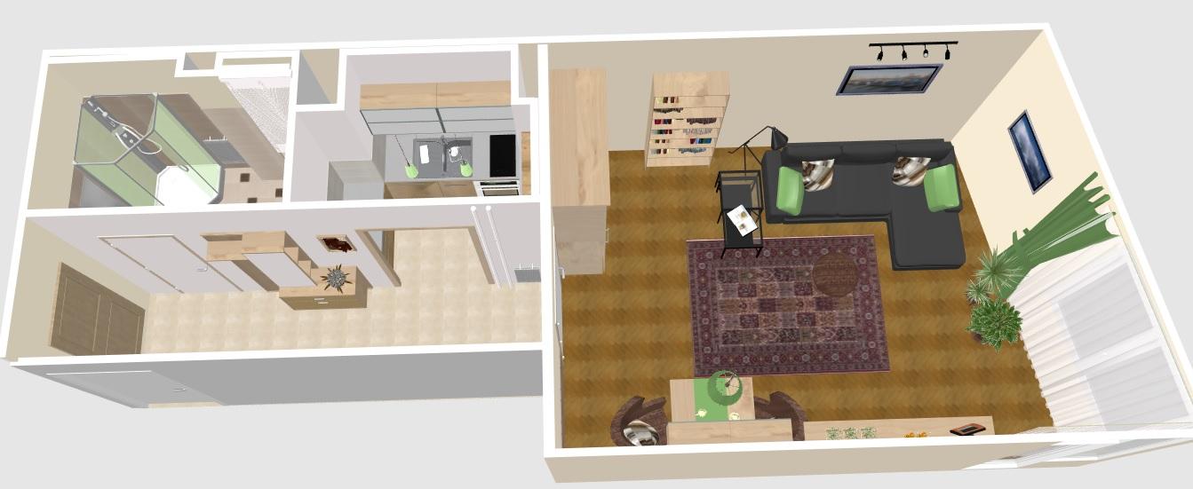 Kislakás berendezésének szempontjai - Tervek, álmok, otthonok lakberendezés + más