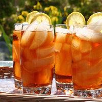 Frissítő, hűsítő, gyümölcsös jeges tea és jégkrém házilag