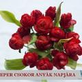 Anyák Napi Rózsacsokor Eperből
