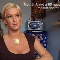 Molnár Anikó a 90 napos diéta mellett döntött