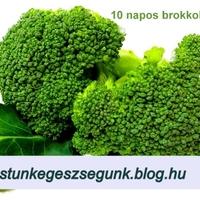 10 napos méregtelenítő, brokkoli diéta