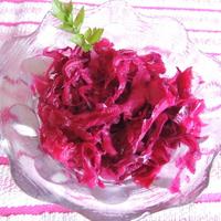 Lilakáposzta recept céklával, lilahagymával