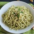 Egészséges vacsora recept: Pestos tészta