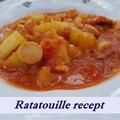Lecsó cukkinivel, a tuti Ratatouille / ratatuj recept