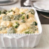 Sajttal sült brokkoli és karfiol recept