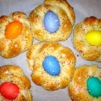 Diétás húsvéti kalács olaszosan, tojással