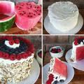 Görögdinnye torta sütés nélkül egészségesen