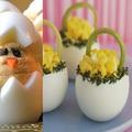 Húsvéti töltött tojás díszítő ötletek