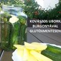 GLUTÉNMENTES KOVÁSZOS UBORKA BURGONYÁVAL