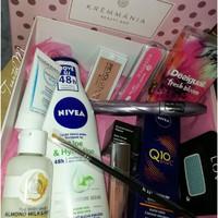 Krémmánia Beauty Box - 2017 november