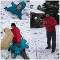 Élvezték a havat #boldogság #tél #myfamily #myboy #myson #family #love  @balazskenyeres