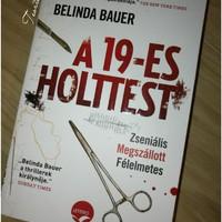 Belinda Bauer: A 19-es holttest