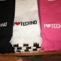 I love techno sál több színben