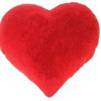 Szív alakú párna Valentin Napra!