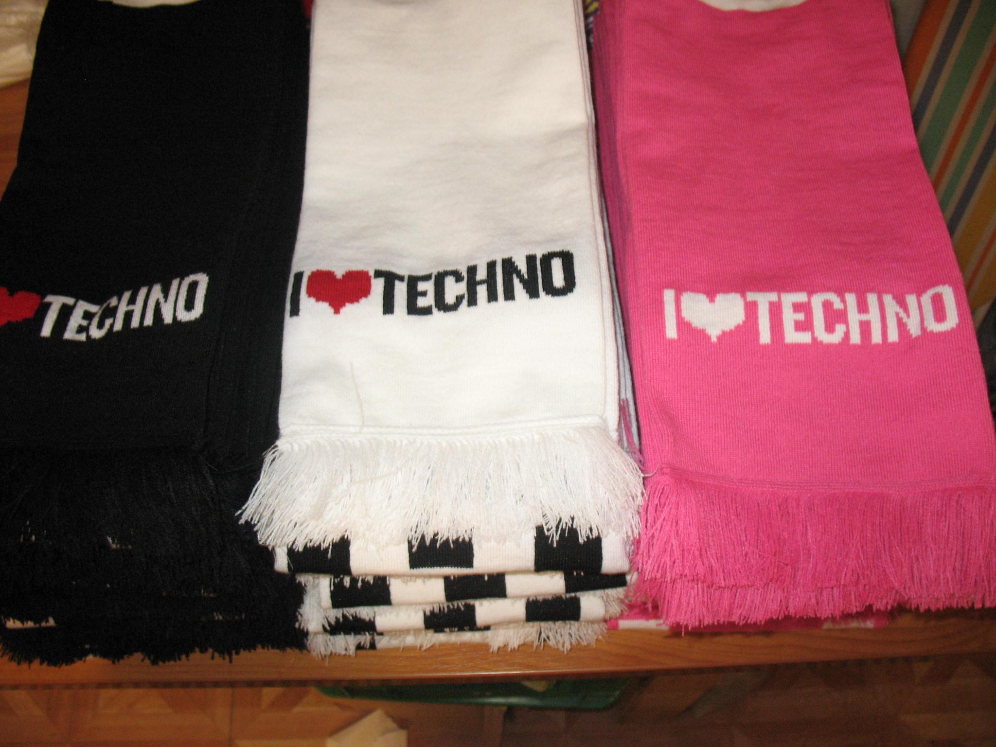 I love techno sál