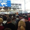 Tumultus a bangkoki reptéren
