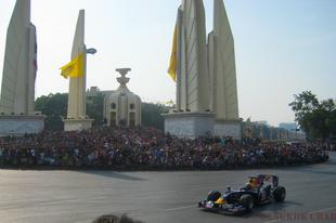 Forma1 őrület Bangkokban