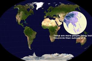 A világ legnépesebb csücskében