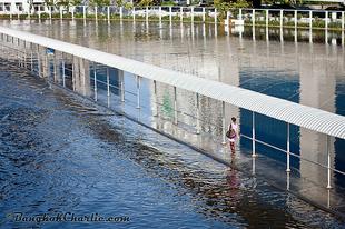Vízivilág Bangkok külvárosában