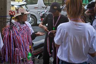 Autómentes nap Bangkokban