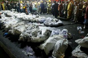 Újévi diszkótűz, 60 halottal