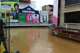 Katasztrófahelyzet Dél-Thaiföldön
