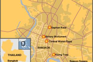 Bangkok, bombák