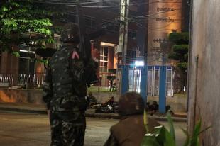 Bangkok, a háborús zóna