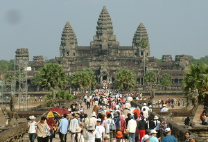 Angkor - Kambodzsa gazdaságának motorja.