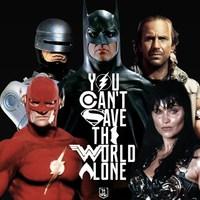 A 90-es évek Igazság Ligája (fan trailer)