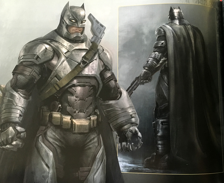 Páncélos Batman koncepciók
