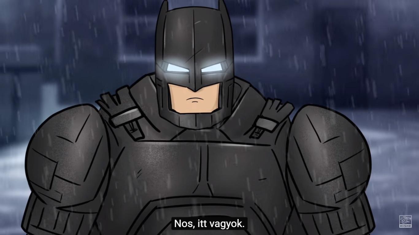 HISHE: Batman Superman ellen (magyar felirattal)