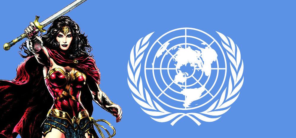 Wonder Woman ENSZ nagykövet lett!