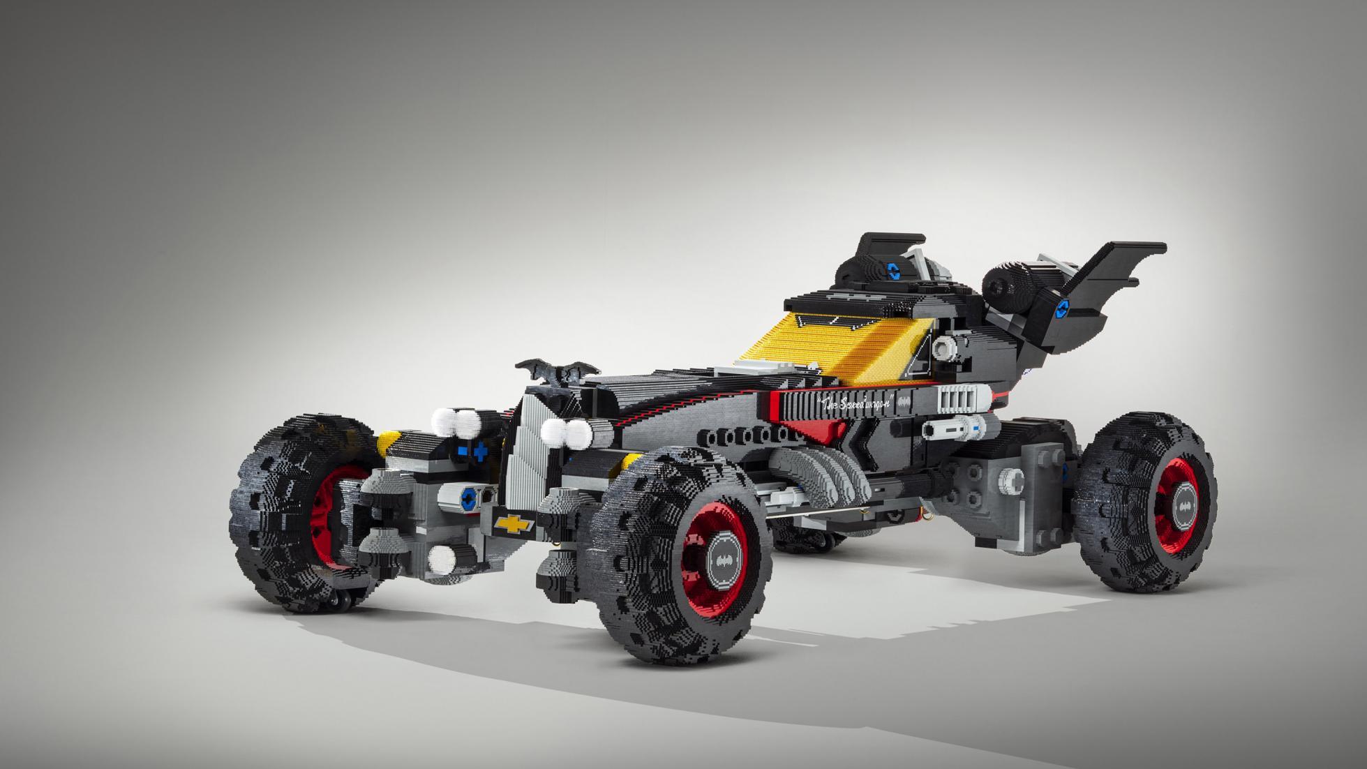 Az életnagyságú kocka Batmobil