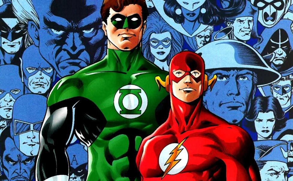Képregény: Flash és Zöld Lámpás közös kalandjai